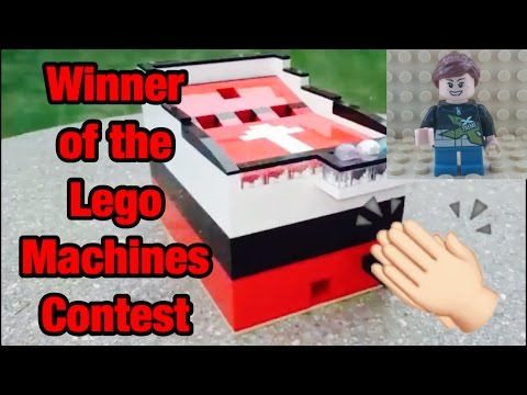 Winner of the Lego Machine Contest (The Lego Girl)