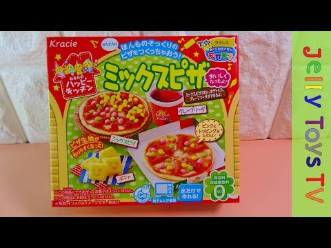 Japanese DIY candy kit Popin Cookin Kracie happy kitchen Mixed Pizza
