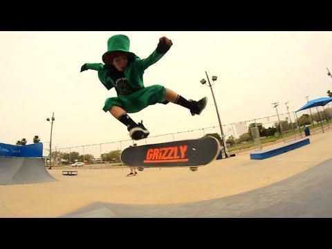 Leprechaun Skateboarding 2