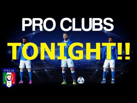 FIFA 13 PRO CLUBS | 11v11 TEAM TOURNAMENT | TONIGHT!!