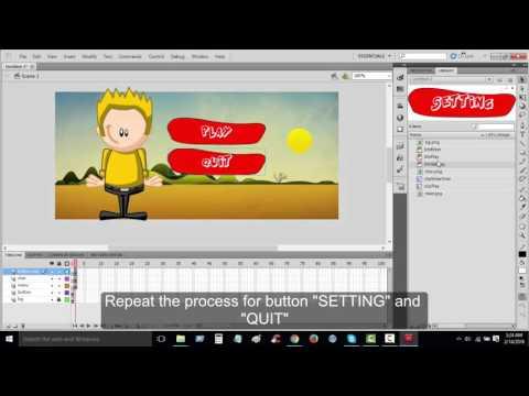 Adobe Flash ActionScript 3.0 - Simple Navigation
