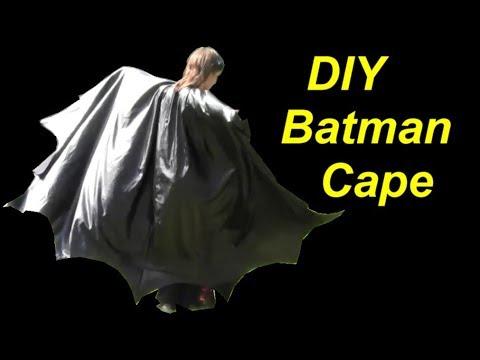 DIY Batman Costume: Cape