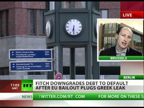 Acropolis Now: 'Debt' down to 'default' as EU plugs Greek leak