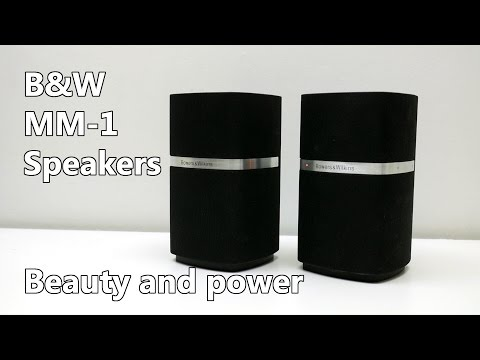 Bowers and Wilkins MM-1 PC Speakers review