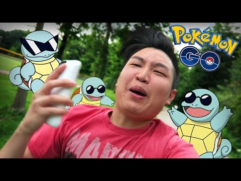 Pokemon GO - Catching The Squirtle Squad!