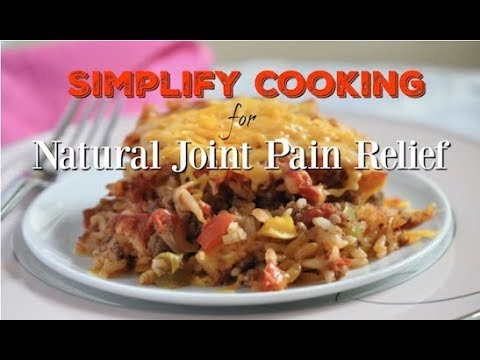 Simplify Cooking for Natural Joint Pain Relief with May Arthritis Awareness Month