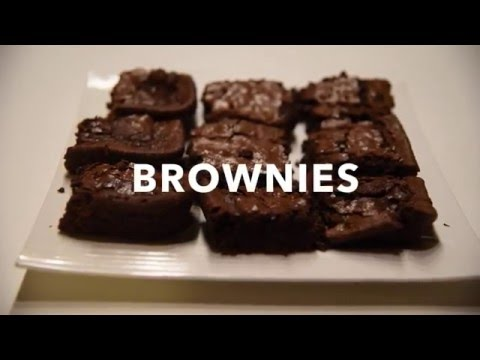 How To Make Simple Amazing Brownies (chewy/fudgy)