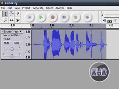 How To Make Your Voice High Pitched/Chip Munks - Audacity