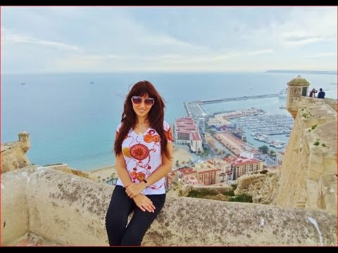 Spain Alicante, Santa Barbara Castle