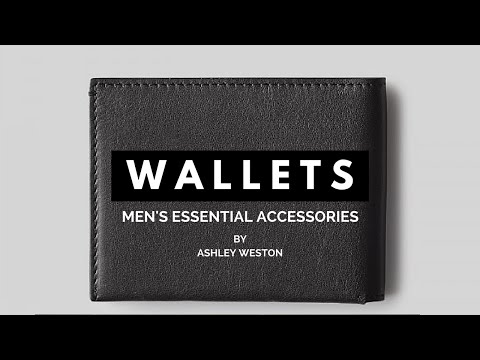 Men's Wallets - Bi-Fold, Card Case, Phone - Men's Essential Accessories - Slim, Leather, Best