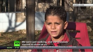 'They slaughtered my brothers & sisters, but let me go': Stories of Aleppo orphans