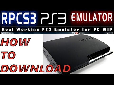 RPCS3: HOW TO DOWNLOAD PS3 EMULATOR   2016