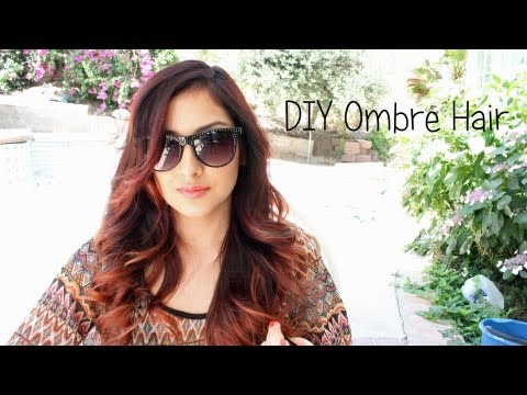 DIY Ombre Hair + How to tone Orange bleached Hair