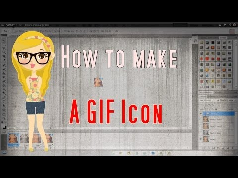 How to make a Gif Icon
