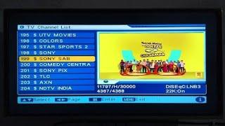 sony sab on dd free dish Videos - 9tube tv