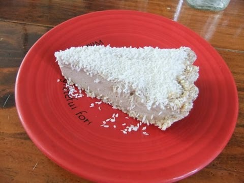 Vegan Coconut Cream Pie at Cafe Gratitude