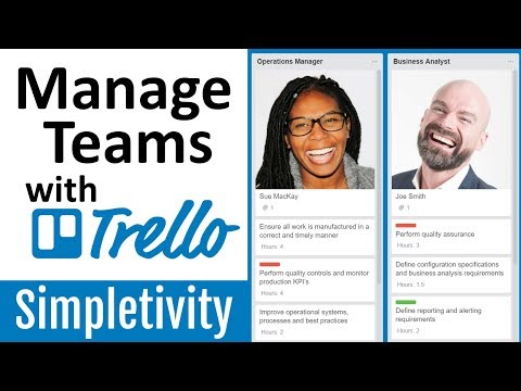 How to Manage Teams with Trello (Job Roles & Tasks)