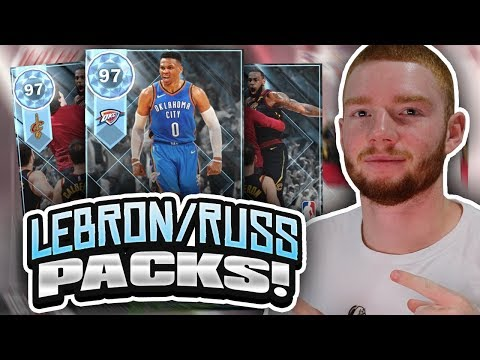 NEW LEBRON JAMES & RUSSELL WESTBROOK PACKS! PLAYOFF MOMENTS PACK OPENING!! (NBA 2K18 MYTEAM)