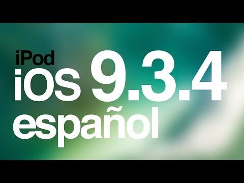 Como actualizar al iOS 9.3.4 iPod touch