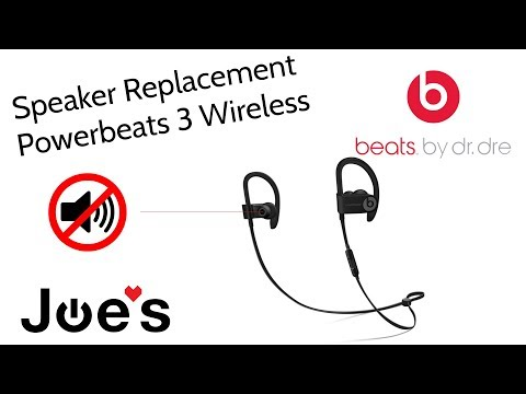 How to replace blown speaker Beats By Dre PowerBeats 3 Speakers Left or Right JoesGE