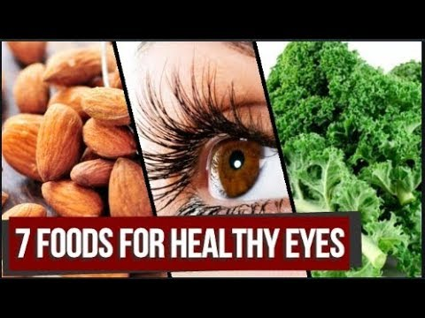 7 foods for healthy eyes | Foods that help to boost eyesight naturally