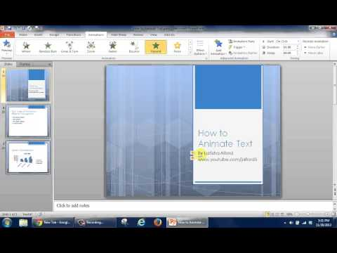 How to Change Animation Timing for Microsoft PowerPoint Slides