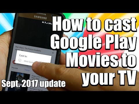 How to Cast Google Play Movies to Your TV without a Chromecast - Sept. 2017 Update