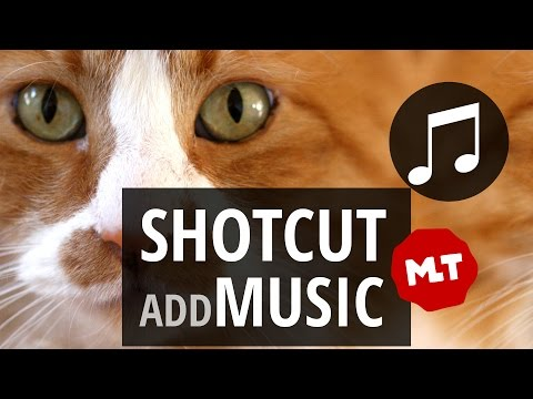 How to add Music to your Video or Slideshow in Shotcut