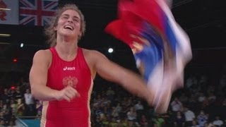 Vorobieva wins Gold - Women's Freestyle 72kg   London 2012 Olympics