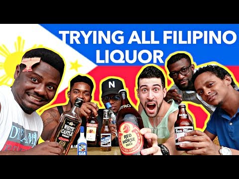 Mixing All FILIPINO LIQUOR in ONE SHOT!! Which is STRONGEST?!😱