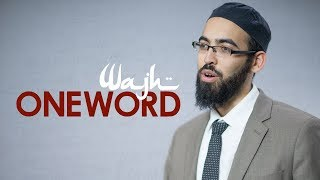 One Word with Adam Jamal - Wajh - Ep 10 (Season 2)