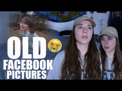 REACTING TO OLD FACEBOOK PICTURES
