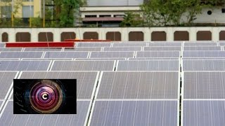 Inside the world's first solar-powered airport - BBC Click