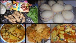أرز بطريقة سهلة وسريعة حلوة جافة للقهوة وجواز بطاطا ترفاس للعشاء بالتعاون مع cuisine et astuce Amina