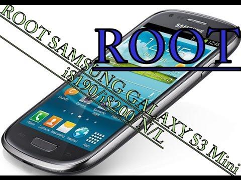 How to Root Samsung Galaxy S3 Mini i8190/i8200/N /L/Q