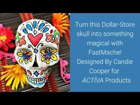 How To Make A Day Of The Dead Skull