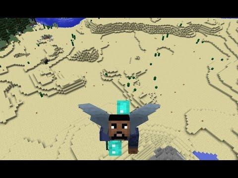 Minecraft 1.9 -  ELYTRA WINGS! Tutorial - Showcase!