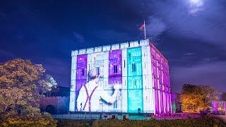 Norwich Castle - Projection Show 2016