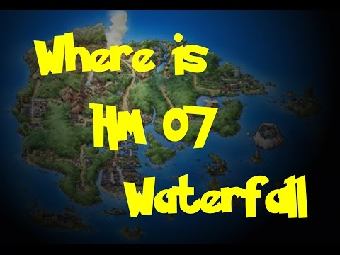 Where Is: HM 07 - Waterfall (Pokemon Ruby/Sapphire/Emerald)