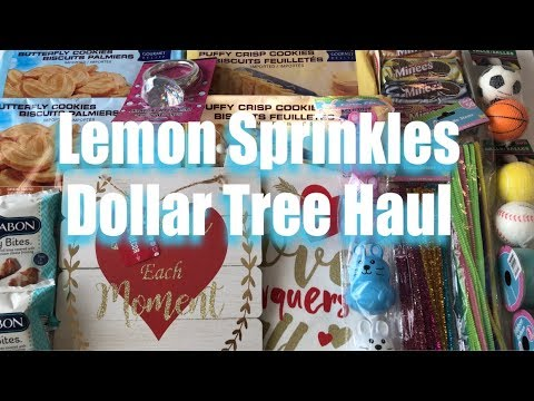 DOLLAR TREE Valentines Day Easter Snacks HAUL