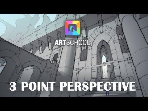 3 Point Perspective Demo (ART School)