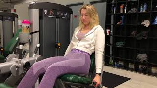How To Get Thicker Thighs My Full Quad Workout