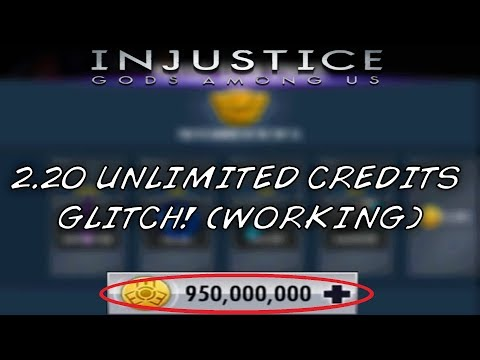 Injustice Mobile |  2.20 Unlimited Credits Glitch! (WORKING) // IOS & Android
