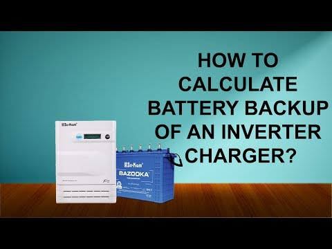 How to increase Battery Backup of an Inverter Charger? Su-Kam Fusion