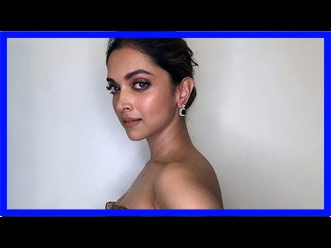 Deepika padukone's stylist trolled for gold 'wrapping paper' dress