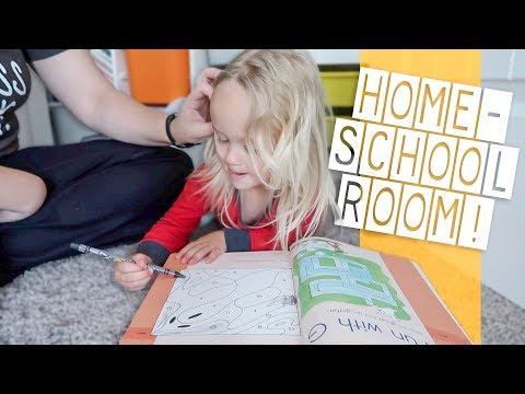 New Homeschool Room Organization!