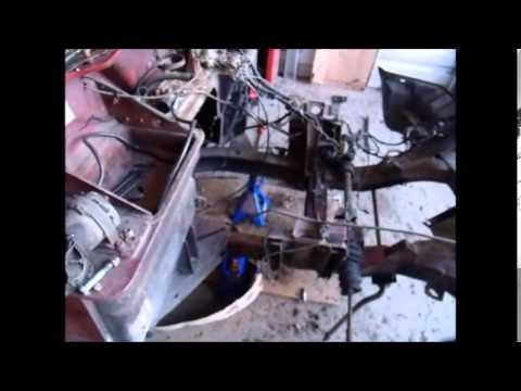 Spitfire frame damage