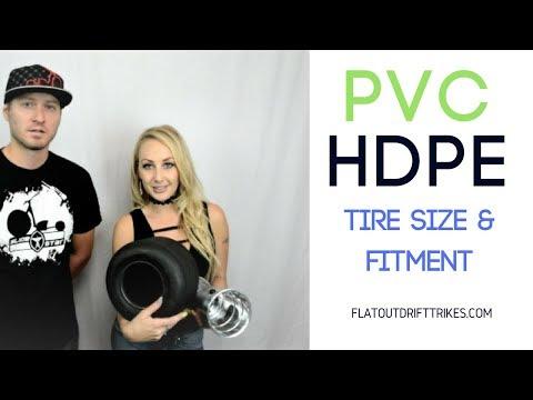 Flatout drift trike - pvc / hdpe tire rim wheel - tech talk