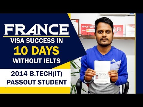 France Visa in 10 Days Without IELTS
