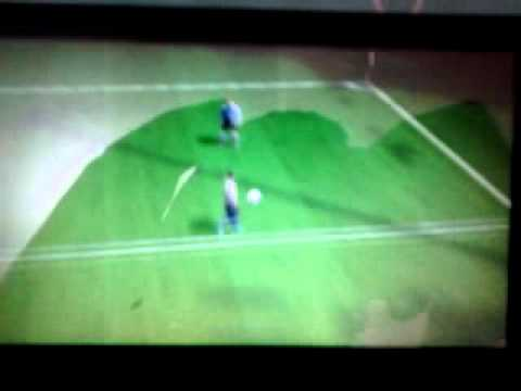 How to score a goal by header in fifa 12 in psp